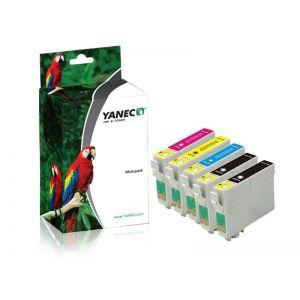 Yanec T0715/T0895 Zwart en Kleur (5 Pack)