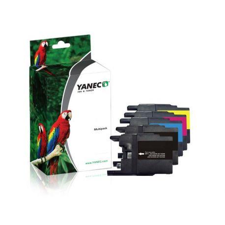Yanec LC-1280 ZWART EN KLEUR (5 PACK)