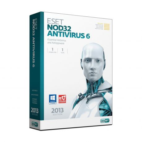 ESET NOD32 Antivirus 6 - Nederlands / 1 Gebruiker / 2 Jaar