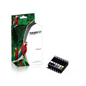Canon PGI-570PGBK + CLI-571 Zwart en Kleur(6-Pack)(Yanec)
