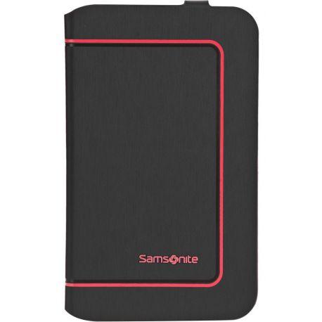 Samsonite Color Frame - Galaxy Tab 3 17.8cm/7inch Zwart/Rood