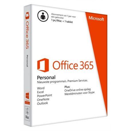 MS Office 365 NL Personal 1 Jaar NL