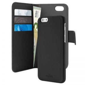 iPhone SE 2020 Wallet Case Zwart