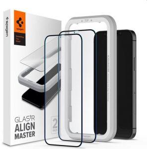 Spigen iPhone 12 Pro Max Tempered Glass