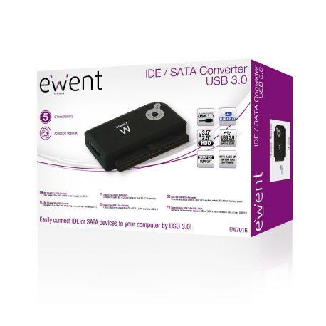 Ewent USB 3.0 naar IDE en SATA Adapter
