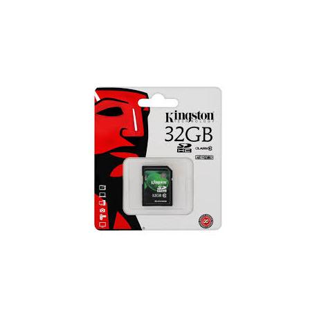 KINGSTON 32GB MICRO SDHC + SD ADAPT. CL10
