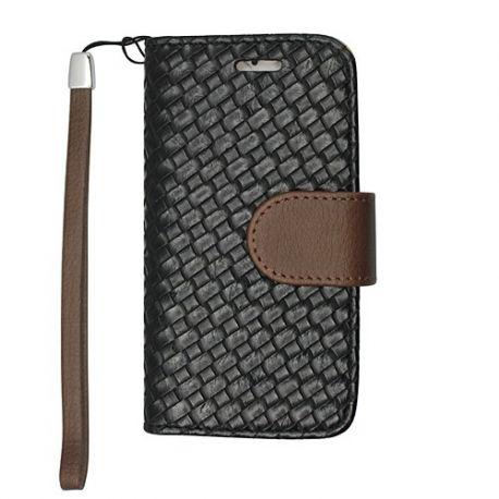 Samsung Galaxy S5 - Woven black - Wallet
