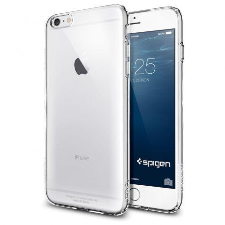 Hardcase voor de Iphone 6 (4.7) - Wit / Transparant