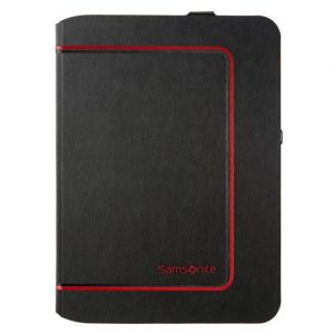 Samsonite Tabzone Galaxy Tab 4 Color Frame 10.1 inch . Kleur: Zwart/rood