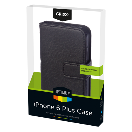 Case iPhone 6 Plus Creditcard Black