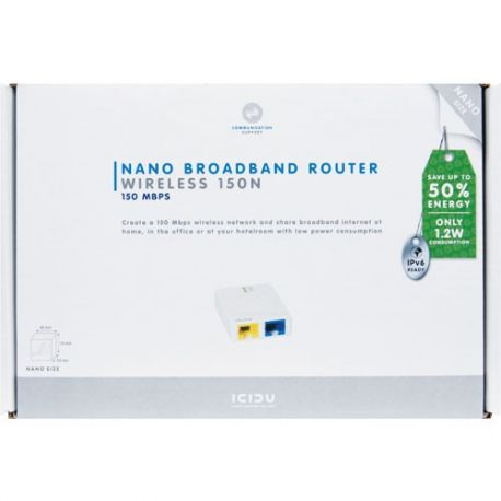 ICIDU Groene Wireless Nano Router 150N