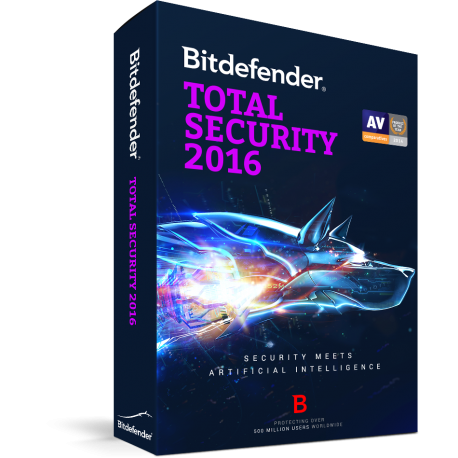 Bitdefender Total Security 1 Jaar