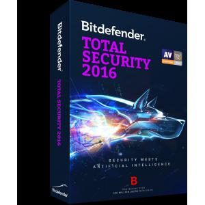 Bitdefender Total Security 1 Jaar