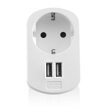 Ewent EW1211 Binnen Wit oplader voor mobiele apparatuur