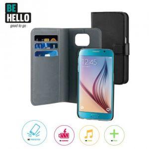 Samsung Galaxy S6 2-in-1 Wallet Case Black