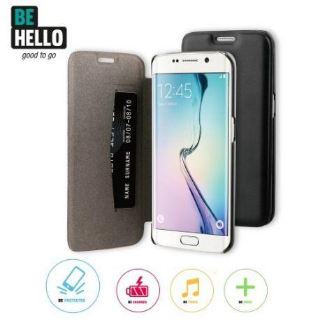 Samsung Galaxy S6 Edge Book Case Black