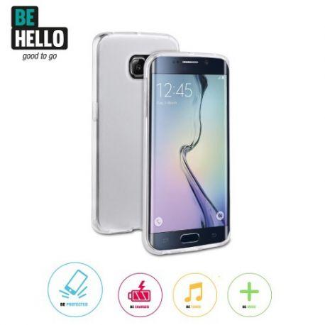 Samsung Galaxy S6 Edge Gel Case Transparent