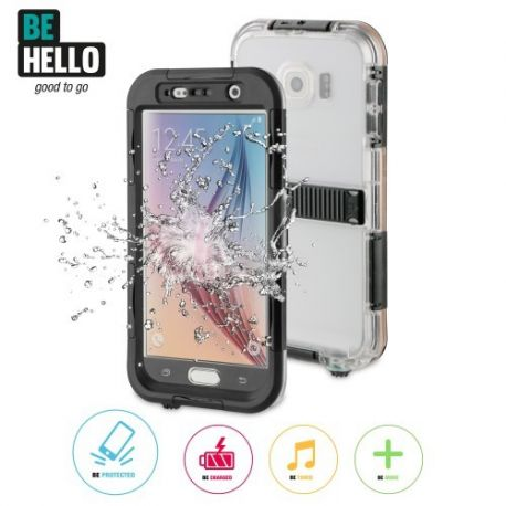 Samsung Galaxy S6 Waterproof Case Black
