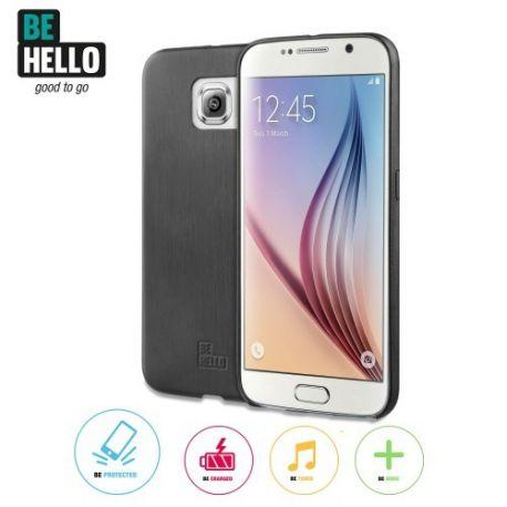 Samsung Galaxy S6 Thin Back Case Black
