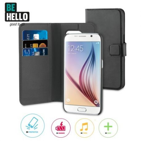 Samsung Galaxy S7 2-in-1 Wallet Case Black
