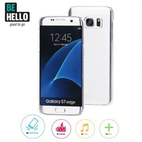 Samsung Galaxy S7 Edge Transparent Back Case Transparent Anti Scratch