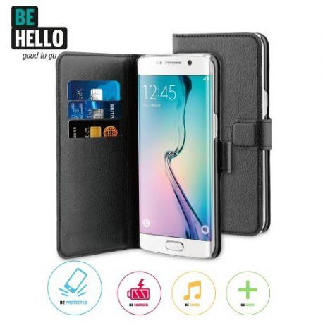 Samsung Galaxy S7 Edge Wallet Case Black