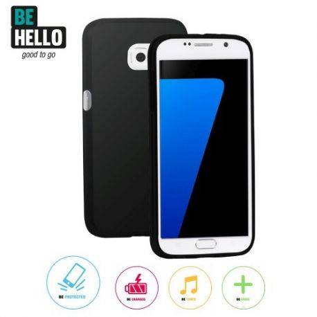 Samsung Galaxy S7 Thingel Case Black
