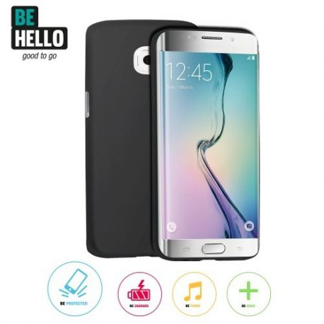 Samsung Galaxy S7 Edge Thingel Case Black