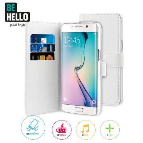 Samsung Galaxy S7 Edge Wallet Case White