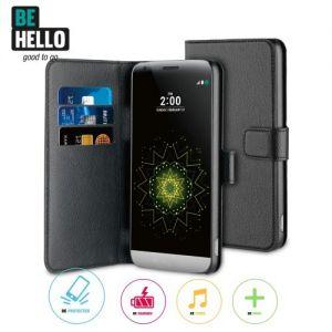 LG G5 Wallet Case Black
