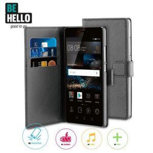 Huawei P9 Wallet Case Black