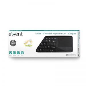 Ewent Smart TV Wireless Keyboard met touchpad