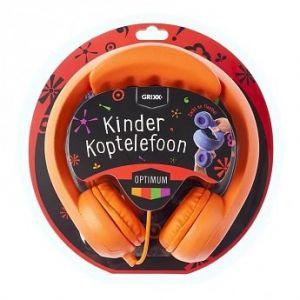 Grixx Optimum Kinder Koptelefoon rood