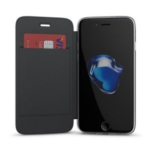 IPhone 7 6S 6 Book Case With Transparent Back Black