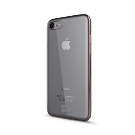 IPhone 7 6s 6 Gel Case Chrome Edge Rose Gold