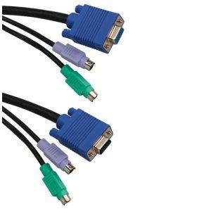 ICIDU KVM Switch Cable 1 8m