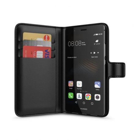 Huawei P9 Lite Wallet Case Black