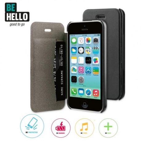 IPhone 5C Book Case Black