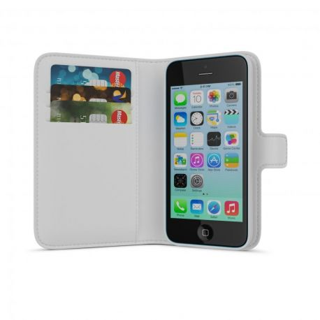 IPhone 5C Wallet Case White