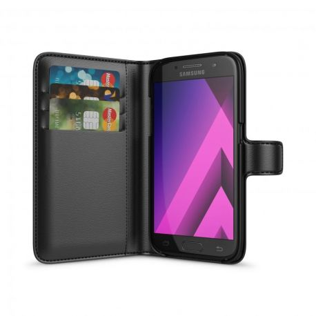 Samsung Galaxy A3 2017 Wallet Case Black
