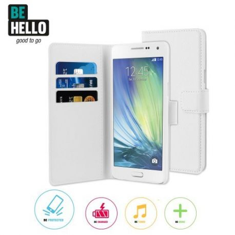 Samsung Galaxy A5 Wallet Case White