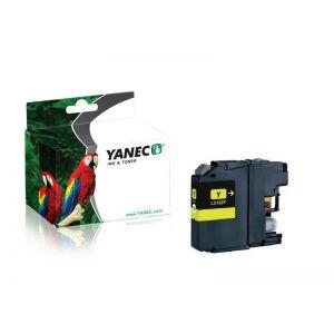 Yanec LC-123Y Geel (Brother)
