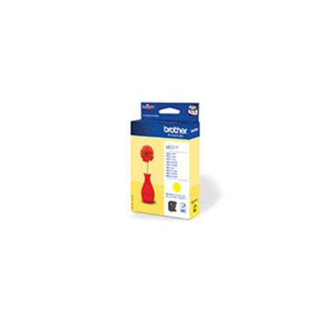 Brother LC-121Y Geel inktcartridge