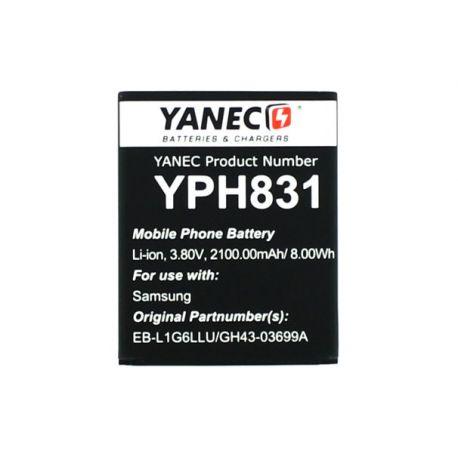 Yanec Smartphone Accu zonder NFC voor Samsung Galaxy S3 i9300