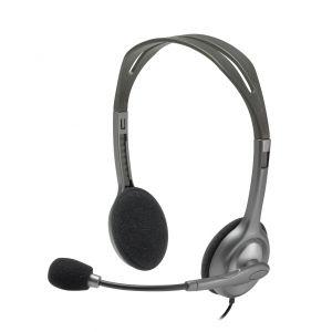 Logitech H111 Stereofonisch Hoofdband Grijs hoofdtelefoon