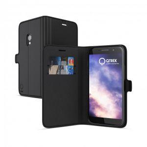 Qtrek Huawei P8 Lite (2017) Gel Wallet Case black