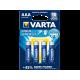 Varta High Energy LR03 Alkaline AAA 1.5V 4 Stuks Blister