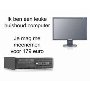 Refurbished Huishoud computer set