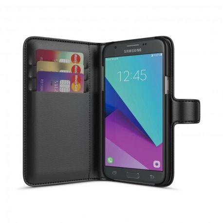 BeHello Samsung Galaxy J3 (2017) Wallet Case Black
