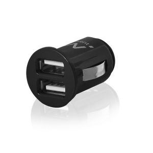Ewent EW1220 Auto Zwart oplader voor mobiele apparatuur